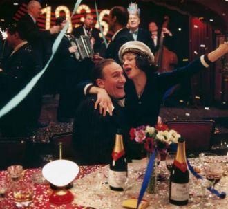 Gérard Depardieu et Marion Cotillard dans 'La Môme'.