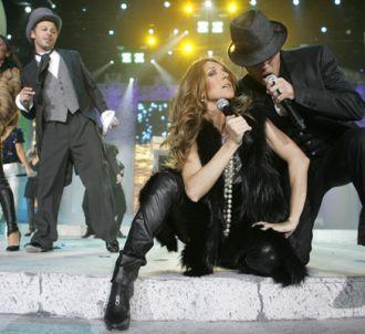Les secrets des Enfoirés (édition 2008). Céline Dion et...