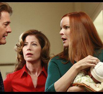 Kyle MacLachlan, Dana Delany et Marcia Cross dans...