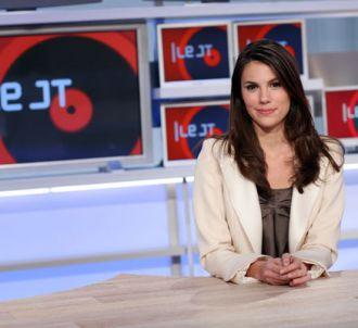 Emilie Besse, présentatrice des journaux dans L'Edition...