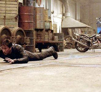 Nicolas Cage dans 'Ghost Rider'.