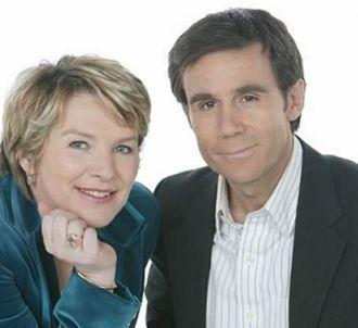 Elise Lucet et David Pujadas présentent la soirée...