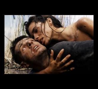 Lambert Wilson et Laurence Treil dans 'La Vouivre'