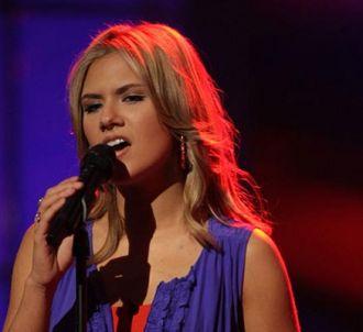 Kady Malloy sur le plateau d'American Idol