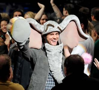 Jim Carrey fait la promo du film 'Horton' dans 'American...