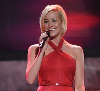 Kellie Pickler sur le plateau d'American Idol