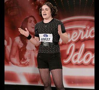 Christina Tolisano lors des auditions d'American Idol 7