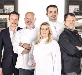Le jury de 'Top Chef' 2016 et Stéphane Rotenberg