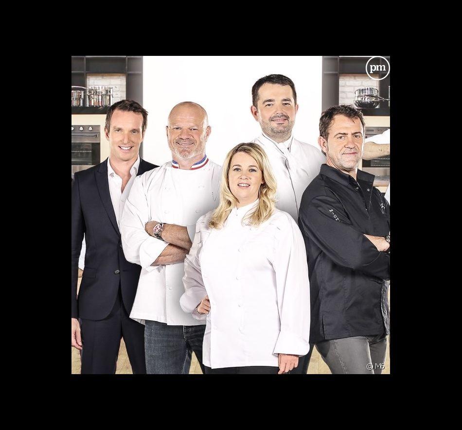 """Le jury de """"Top Chef"""" 2016 et Stéphane Rotenberg"""