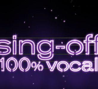 Le logo de 'Sing-off : 100% vocal'.