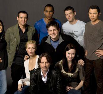 Le cast de 'Stargate Universe'