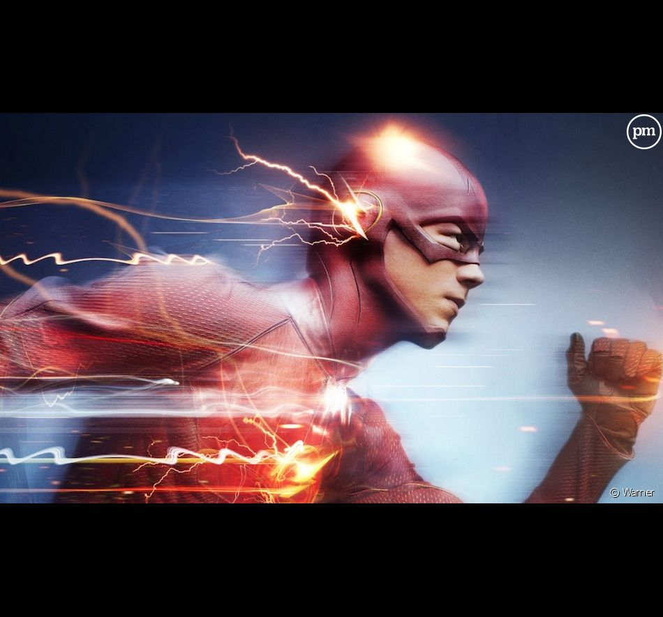 "Grant Gustin est ""Flash"""