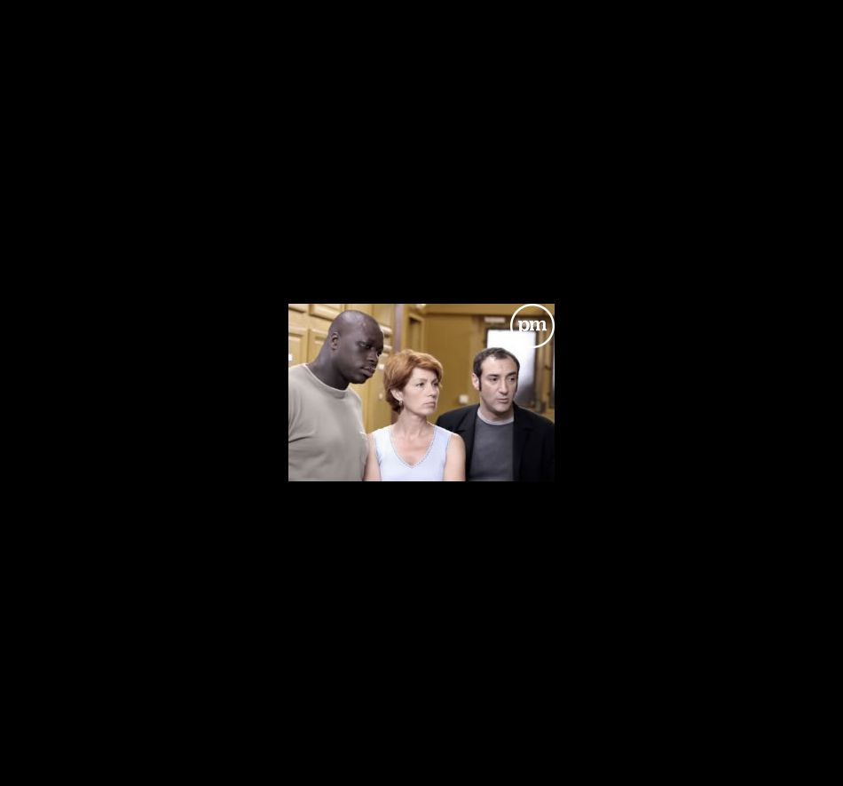Véronique Genest, alias Julie Lescaut, entourée de Mouss Diouf et Renaud Marx