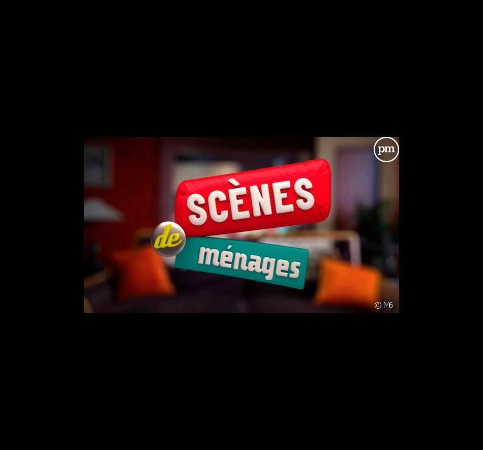 """Le logo de """"Scènes de ménages"""" sur M6"""