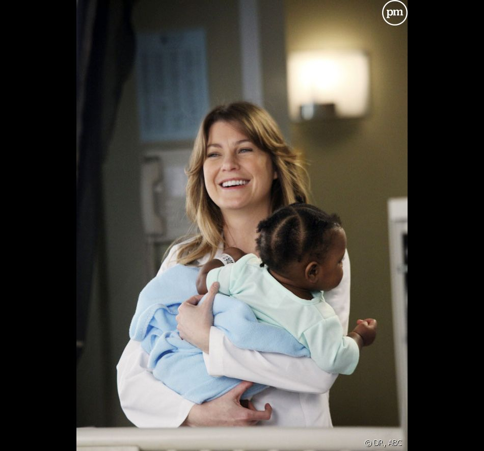 Grey's Anatomy, saison 7 épisode 21, meredith souriante