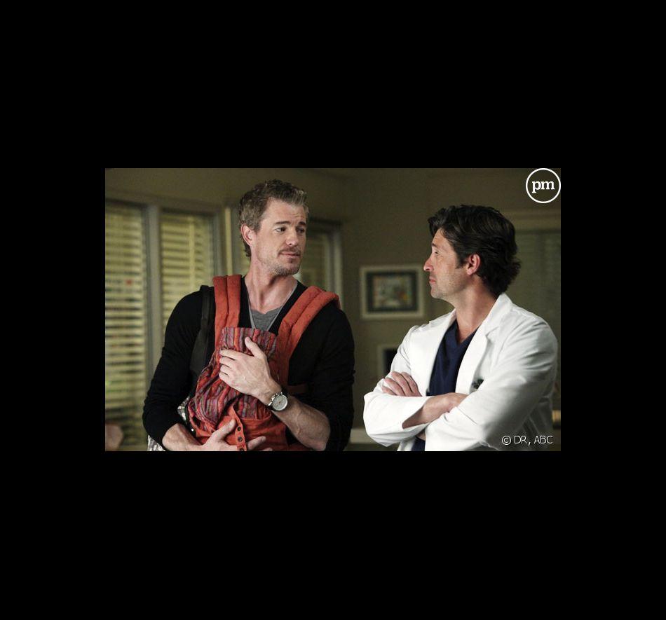 Grey's Anatomy, saison 7 épisode 21 : Patrick Dempsey et Justin Chambers