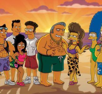 Les Simpson, saison 22, tout le monde à la plage