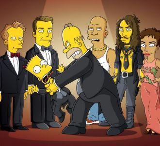 Les Simpson, saison 22, belle image d'amour père fils