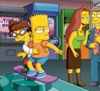Les Simpson, saison 22, Bart s'est fait une nouvelle amie