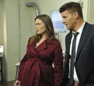 Emily Deschanel et David Boreanaz dans la saison 7 de...