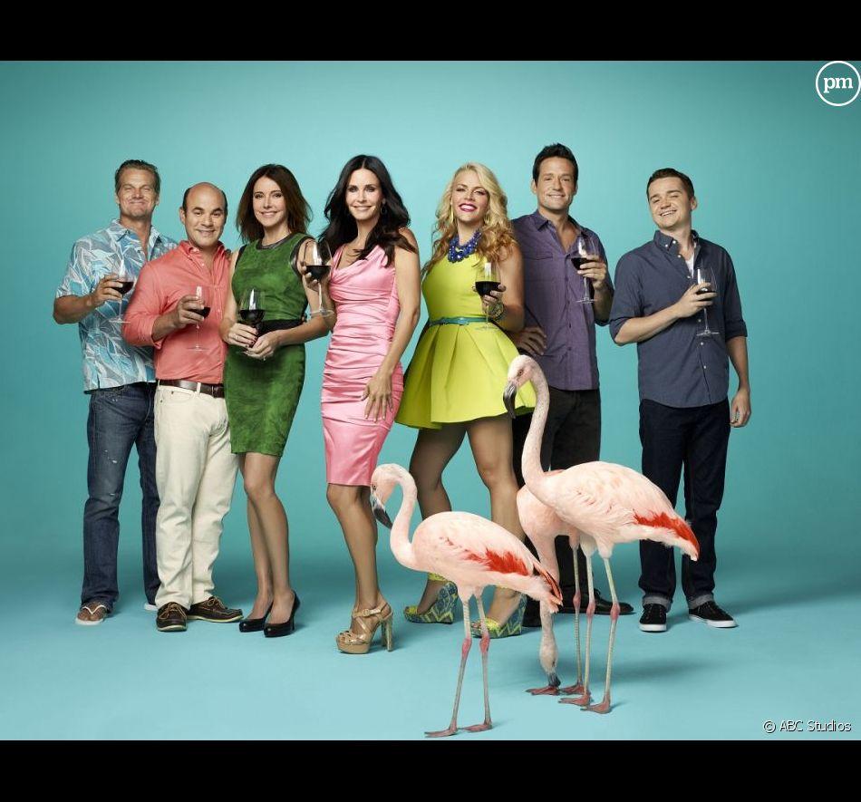 """Le cast de """"Cougar Town"""" saison 4"""