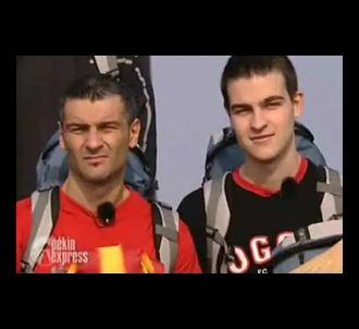 Deux candidats de Pékin Express saison 2008.
