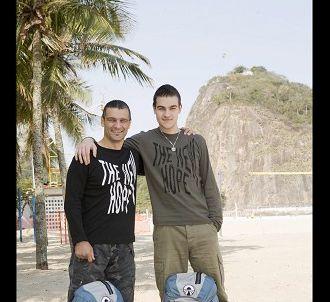 Gérard et Cédric, candidats de l'édition 2008.