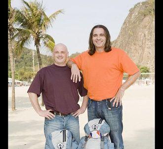 Eric et Pierre, candidats de l'édition 2008.