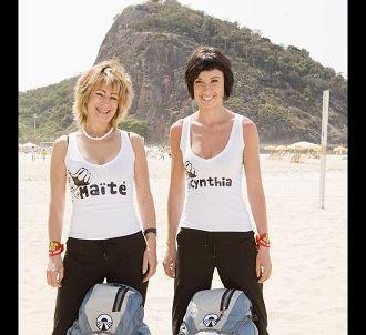 Maite et Cynthia, candidats de l'édition 2008.