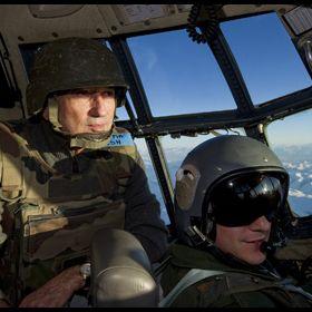 En vol avec l'armée de l'air