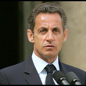 Intervention du président de la République Nicolas Sarkozy