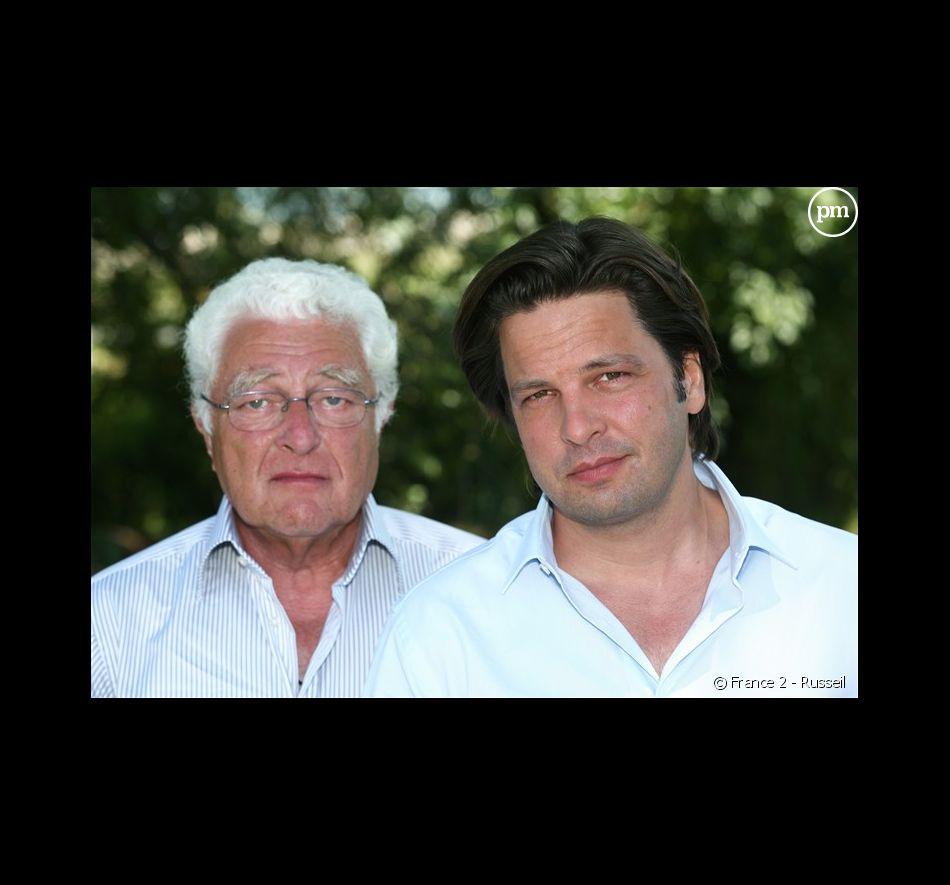 Jean-Marc Bloch et Arnaud Poivre d Arvor