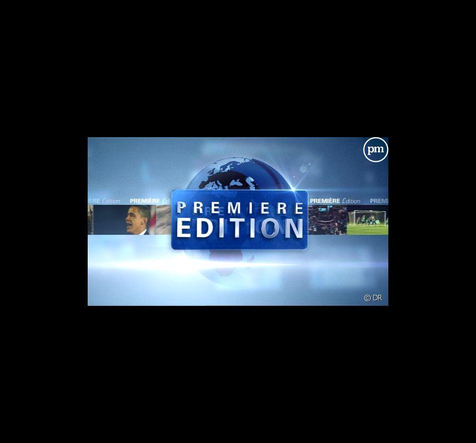 """Le logo de """"Première Edition"""" sur BFM TV"""