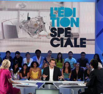 Le plateau de 'L édition spéciale'