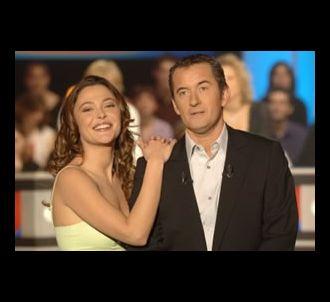 Christophe Dechavanne et Sandrine Quétier présentent 'Les...